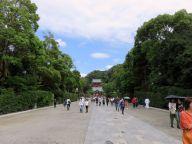 Kamakura (stolica Japonii w XIII-XIVw.- świątynia shinto z 1063r.