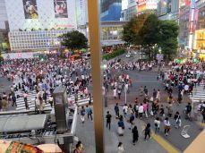 Skrzyżowanie Shibuja, najludniejsze w Tokio