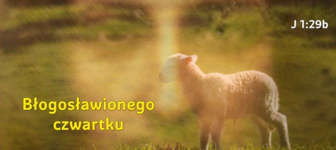Oto Baranek Boże, który gładzi grzech świata.