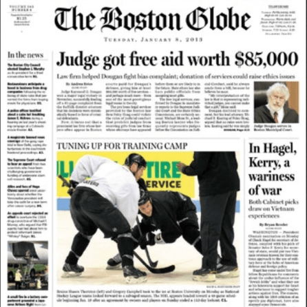 PERM Advertising The Boston Globe
