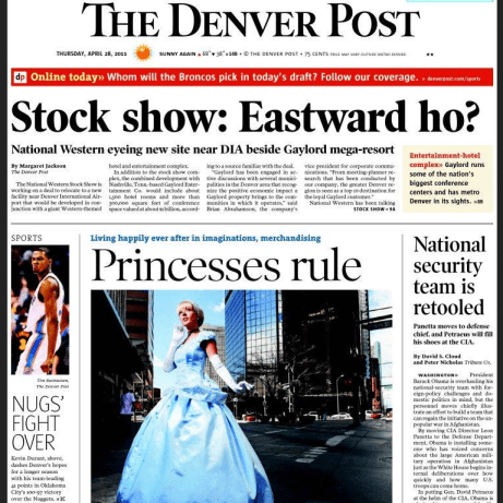 PERM Advertising The Denver Post