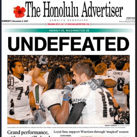 PERM Advertising The Honolulu Advertiser
