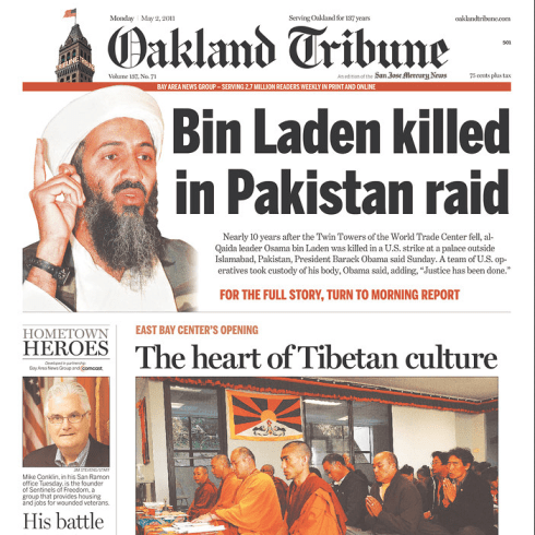 PERM Advertising The Oakland Tribune
