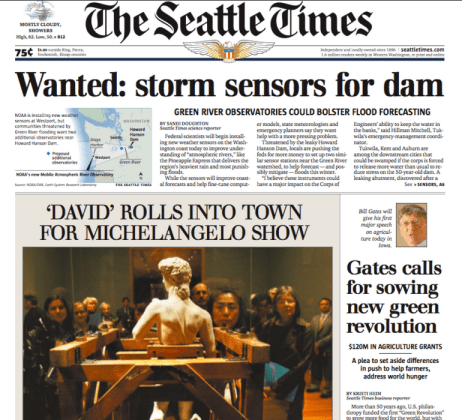 PERM Advertising The Seattle Times