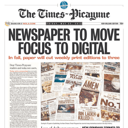 PERM Advertising The Times-Picayune