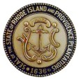 Official Great Seal of the State of Rhode Island