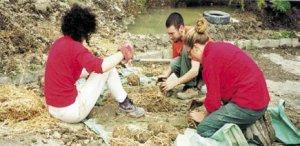 Casa in cob al corso di permacultura