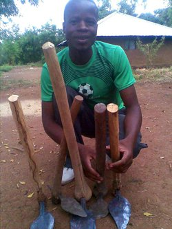 Joseph Ouma Ogola fondatore del J-TEN village project