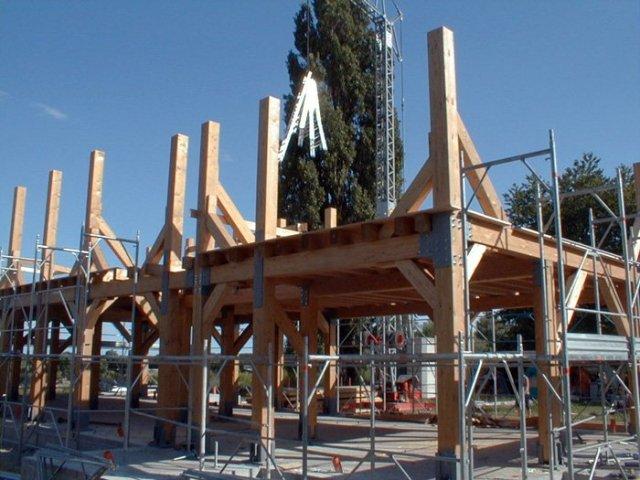 struttura casa paglia