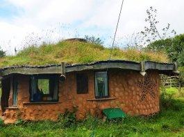 casa cob permacultura