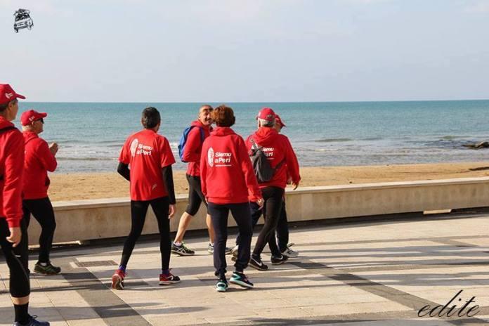 Marco Carnemolla camminatori marina di ragusa