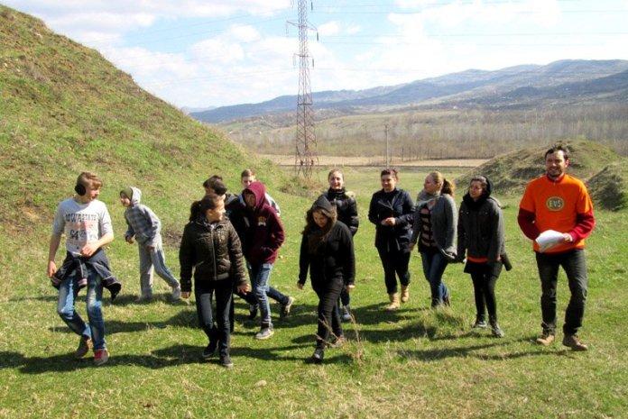 Bambini permacultura erosione romania