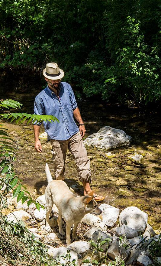 Permacultura sicilia acqua Michel Claes