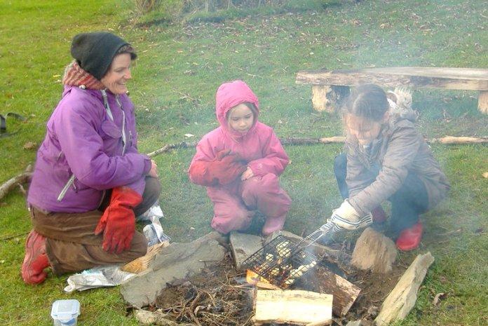 bambini permacultura cucina