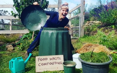 Produce no waste – Soil loves compost