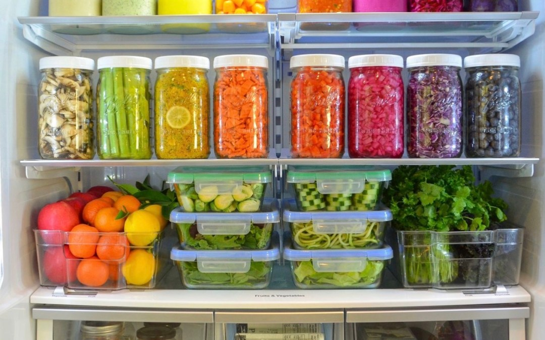 Declutter your body, create a garden of food in your fridge