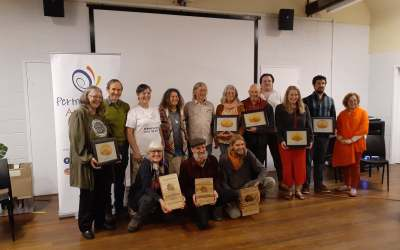 2021 Permaculture service awards announced