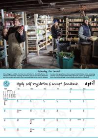 2017 Permaculture Calendar - with moon planting guide