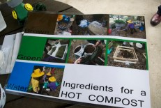 3 main ingredients of hot compost