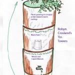 Robyn Crosland tin towers