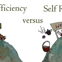 Self-Reliance Not Self-Sufficiency