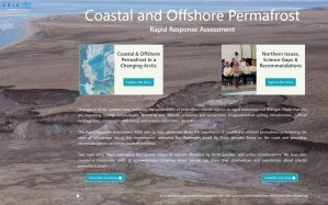Coastal and Offshore Permafrost Rapid Response Assessment screenshot