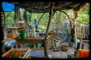 Powstała też kuchnia letnia.