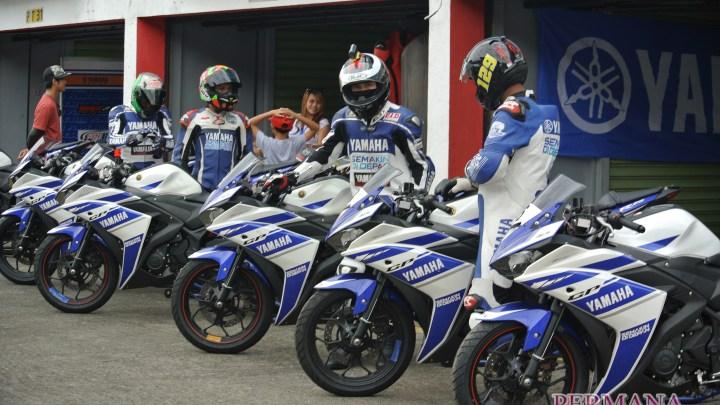 Pengalaman Mencoba Riding Analyzer Milik Yamaha Racing Factory Indonesia di Sirkuit Sentul, Belajar Banyak