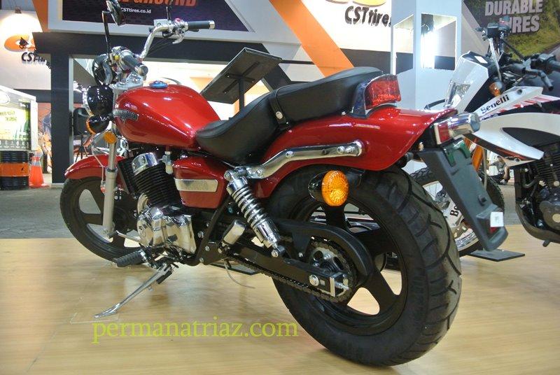 Motor 2 Silinder Dibawah 30juta? Nih Kenalin MotoBi-250 Patagonian Eagle, Ada di PRJ!