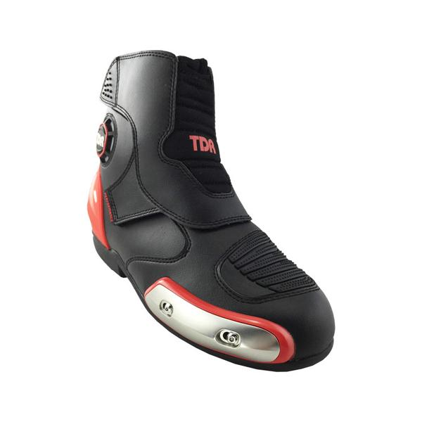 boots touring motor tdr type tdr one black red