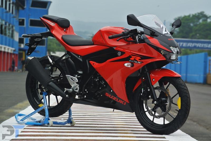 Test Ride Suzuki GSX-R150, Sempat Khilaf Di Trek Lurus  Sentul Tembus 143KPJ
