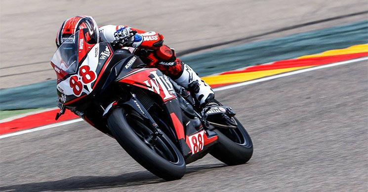 M.Perez Diatas Honda CBR500R, sumber foto: todocircuito