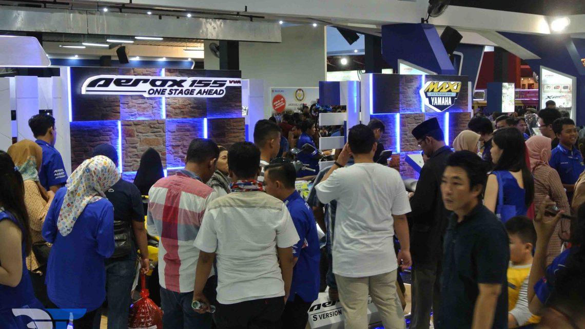 Maxi Yamaha Sukses Merebut Perhatian Para Pengunjung  Jakarta Fair 2017