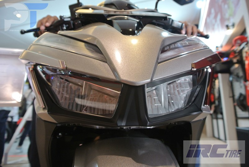 First Impression All New Honda Vario 150 Lampu Depan