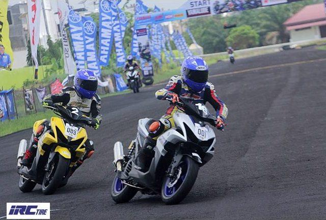 Kelas Baru Yamaha Aerox 155 Cup Community Jadi Primadona di Ajang Yamaha Cup Race 2018!