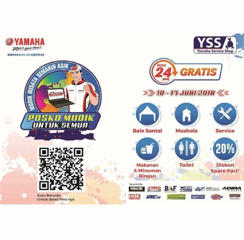 Fasilitas Posko Mudik Yamaha 2018