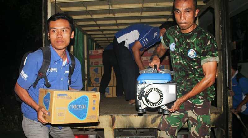 Yamaha Peduli Korban Gempa Lombok