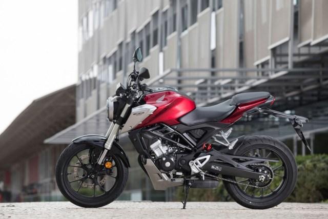 Spesifikasi New Honda CB125R 2019