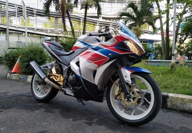 Yamaha R25 Garapan XP Modification