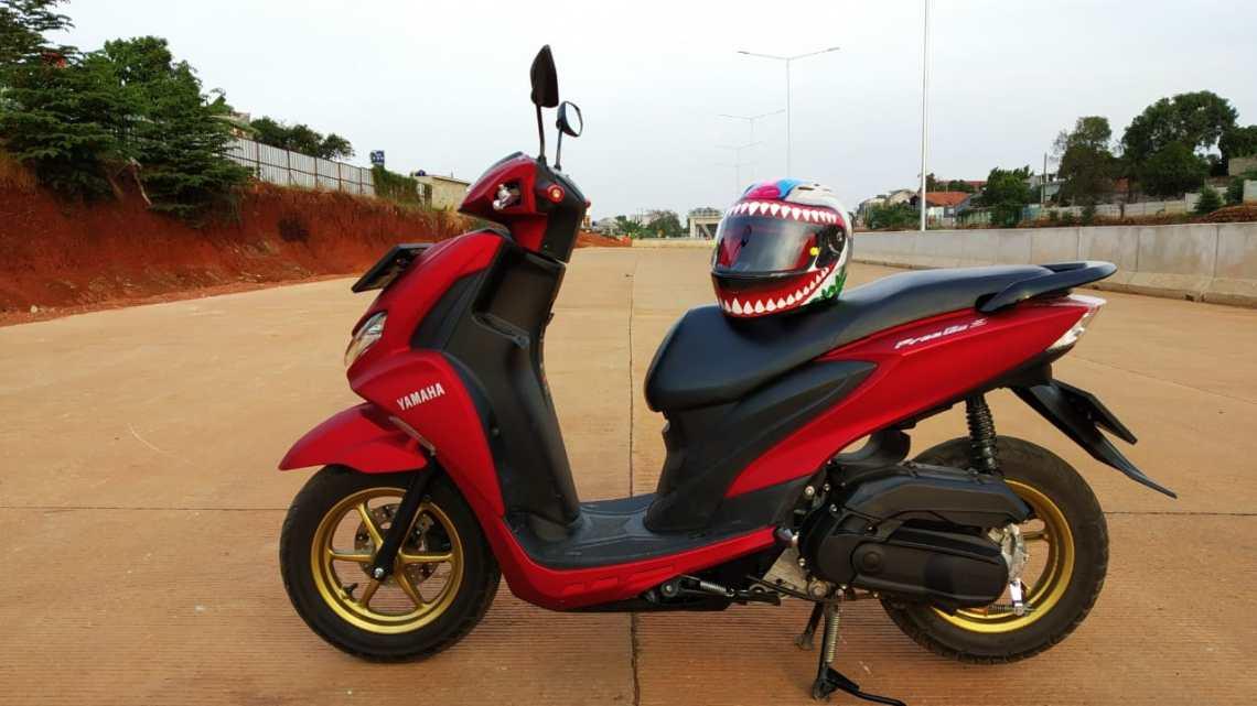 Review Yamaha FreeGo 125 Versi Ojek Online: Dipakai 11 Ribu KM, Ini Plus Minusnya!