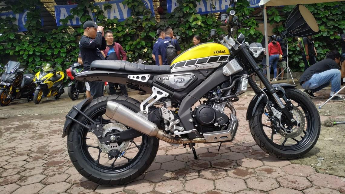 Modifikasi Yamaha XSR155 Garapan FAT Motorsport Bikin Pangling!