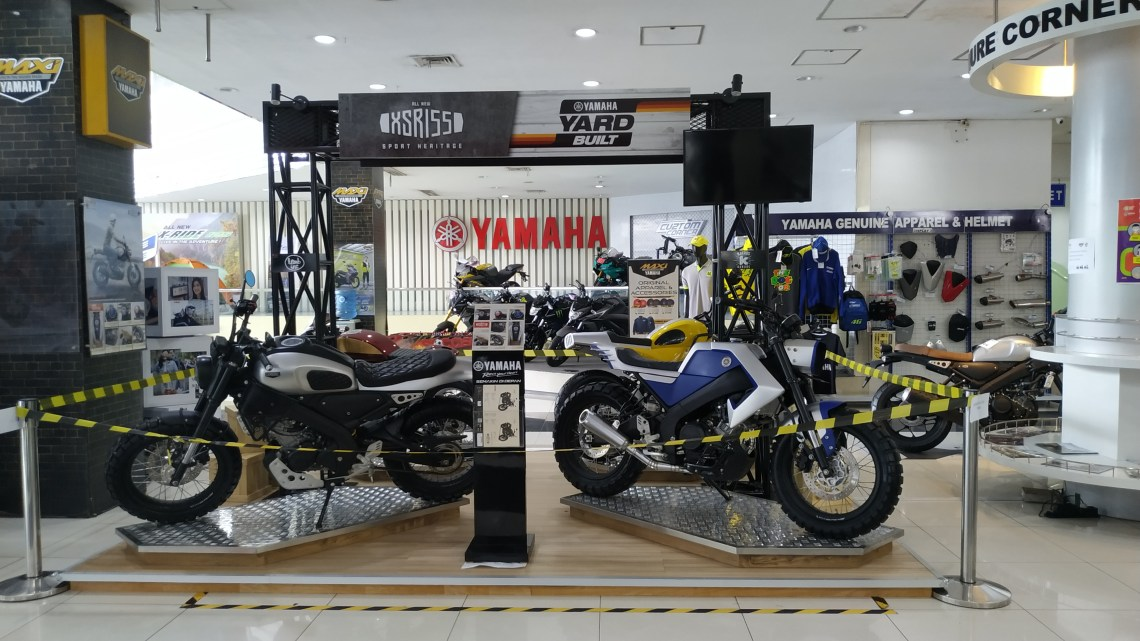 Yamaha Yard Build Indonesia: 4 Builder Beken Adu Keren Modifikasi Yamaha XSR155!