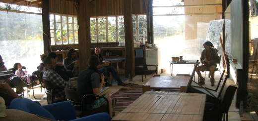 The new learning space at the Permaculture Research Institute Sunshine Coast
