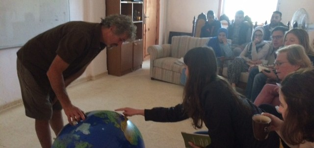 Tom Kendall teaches the PDC in Jordan.