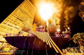 Pyrophone Juggernaut on fire!