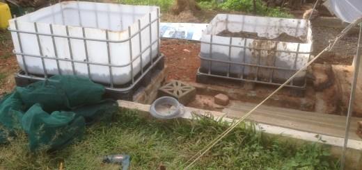 Tom Kendall sets up worm farms on his property Maungaraeeda.