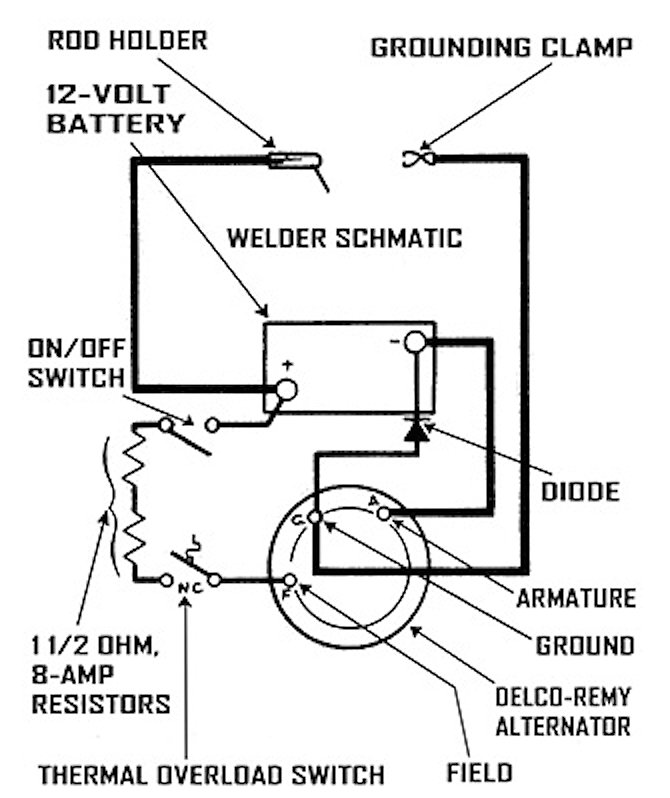 Dc Welder Wiring Diagram : 24 Wiring Diagram Images