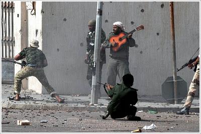 Only in Libya…