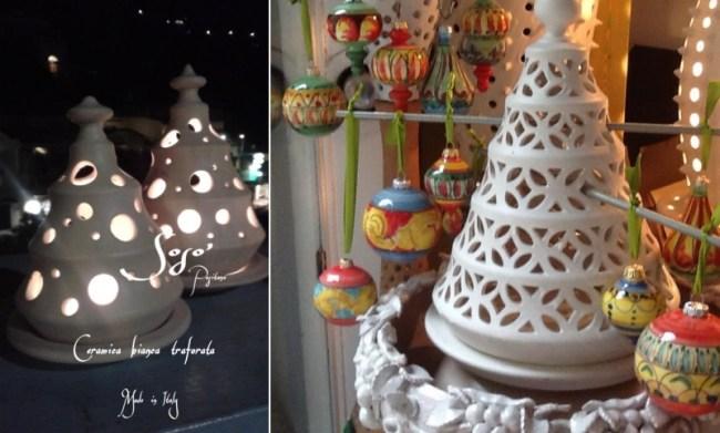 alberelli lanterna in ceramica