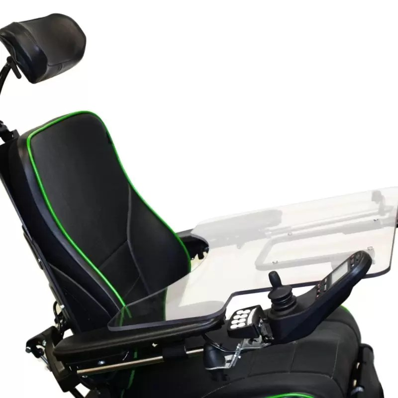 Upper Extremity Support with Joystick Cutout  Permobil